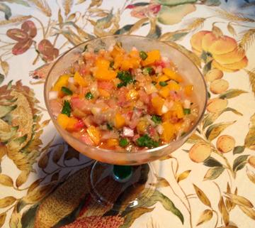 Rhubarb Salsa for Michelleweb