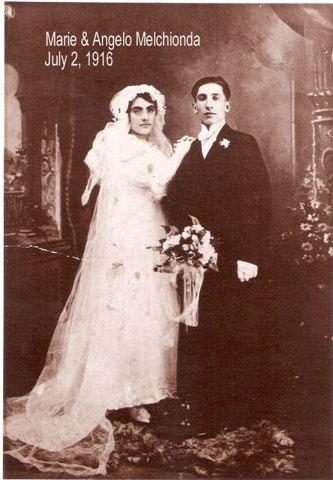 Marie & Angelo Melchionda 1916