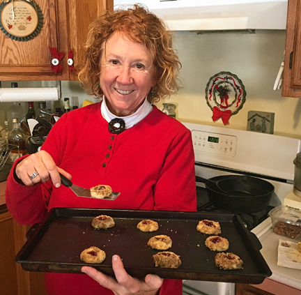 Laurie Neely in Her Kitchen (Courtesy of Laurie's husband Ray)